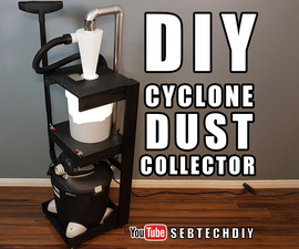 DIY Cyclone Dust Collector