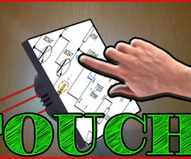 Touch Switch Circuit Using Transistor MOSFET