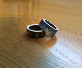 DIY Space Rings