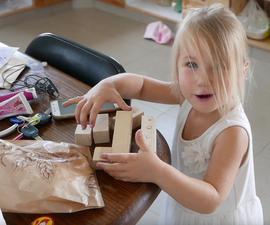 How to Make Magnetic Wooden Blocks Like Tegu Toys!