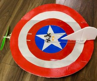 Flying Captain America's Shield - RC Plane