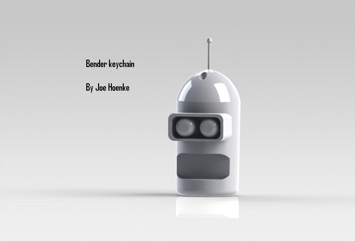 Picture of How to Make a Bender Keychain!