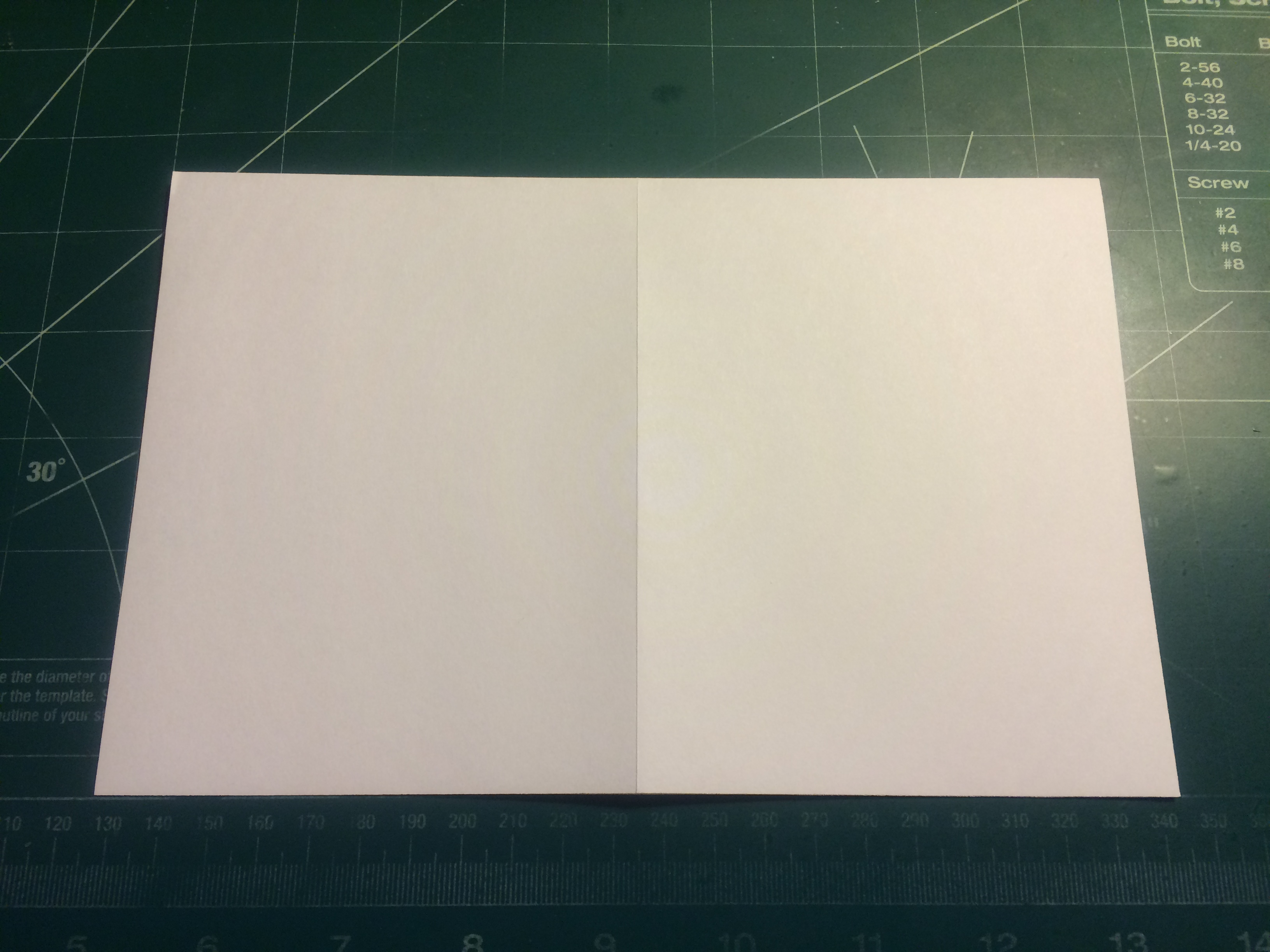 Picture of Length, Width and Corner Folding