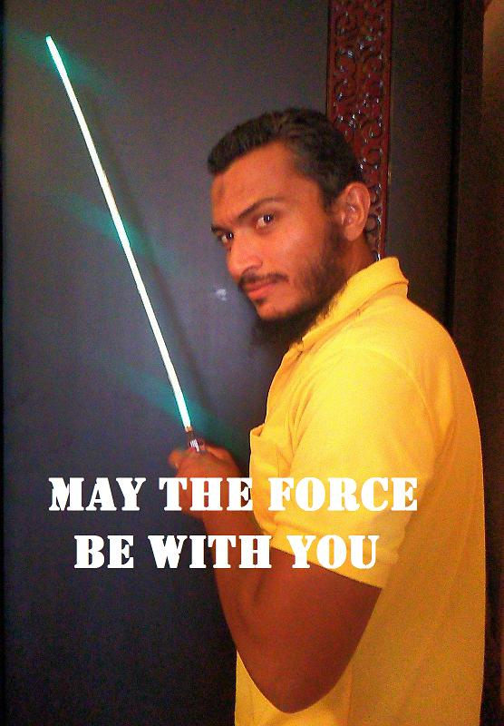 Picture of May the Force Be With You - Lightsaber in 5 Minutes Method