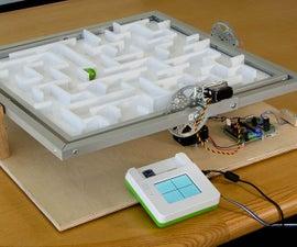 Use Sensors and Actuators to Make a Mechanical Labyrinth Maze