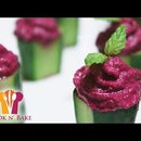 Beetroot Dip Stuffed Cucumbers - Cook n' Bake