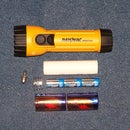 """Make a $200 """"tactical"""" flashlight for about $15"""