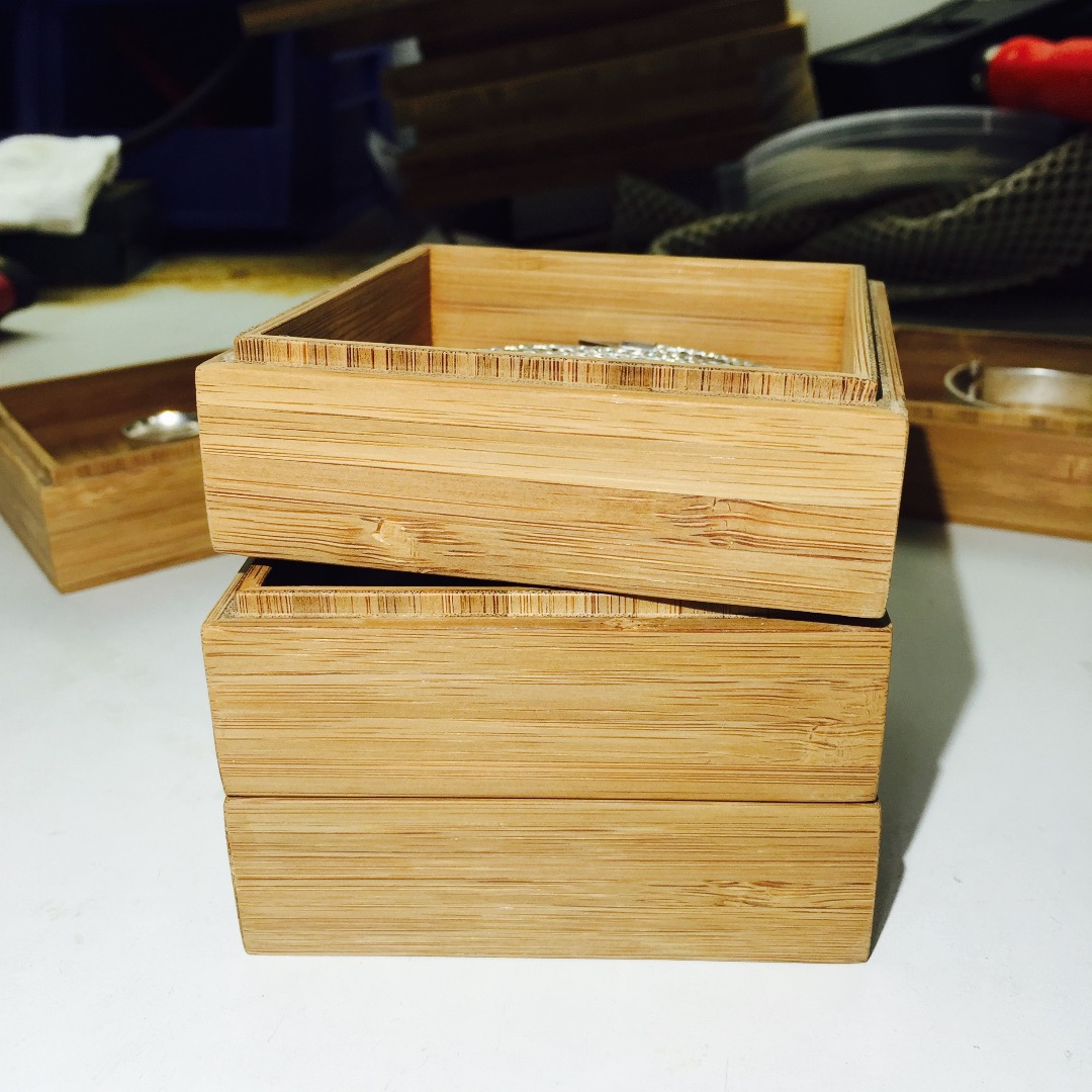 Picture of Mini Stacking Wood Boxes
