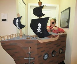 Pirate Ship With Party Game