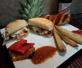 Jamaican Jerk Chicken Sandwiches + Chutney