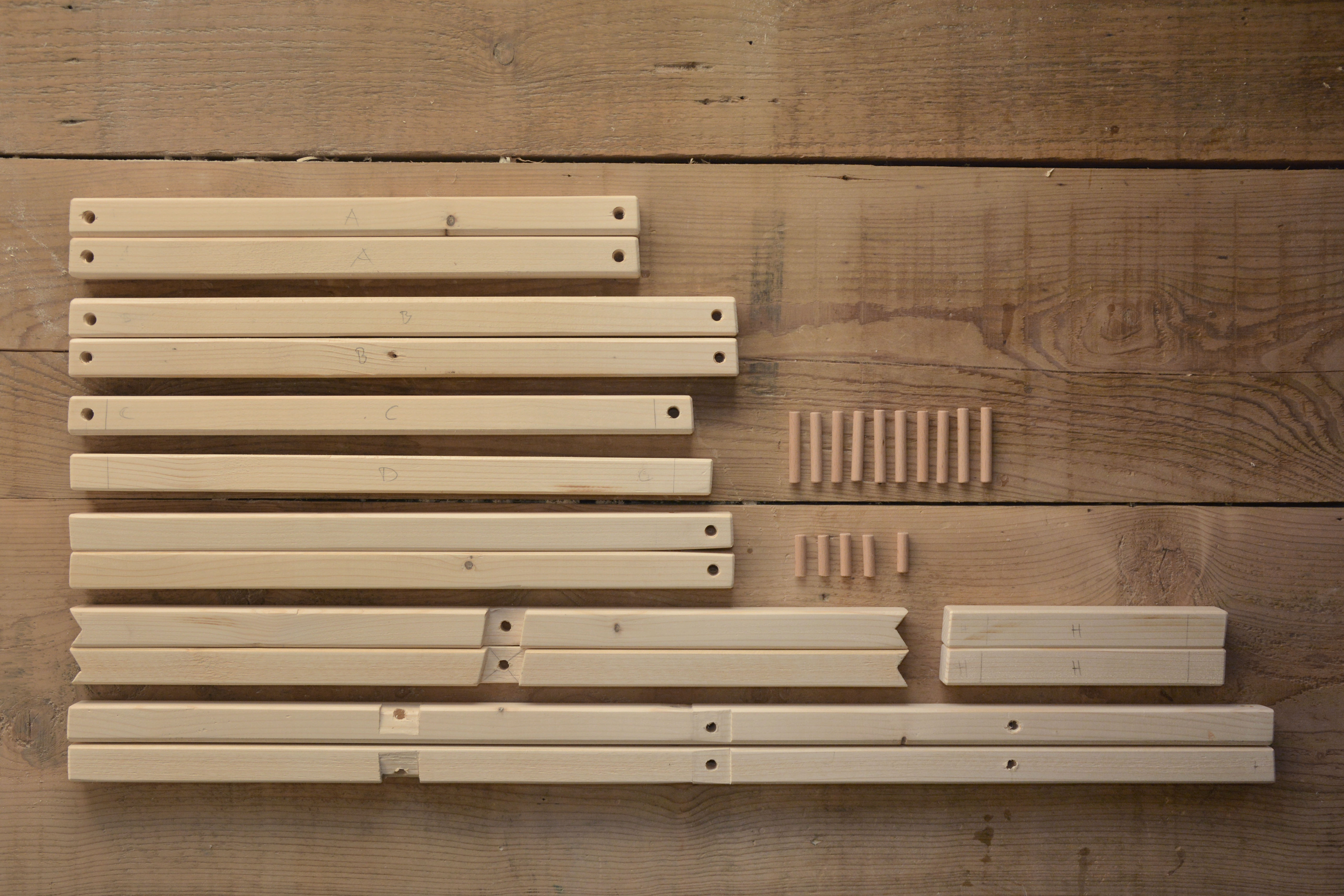 Picture of Wooden Parts