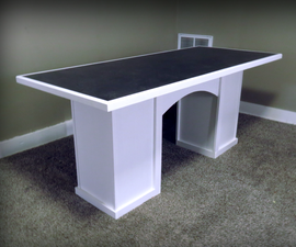 Cheap DIY Dining Table