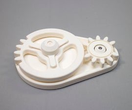 3D Printed Indexing Gears