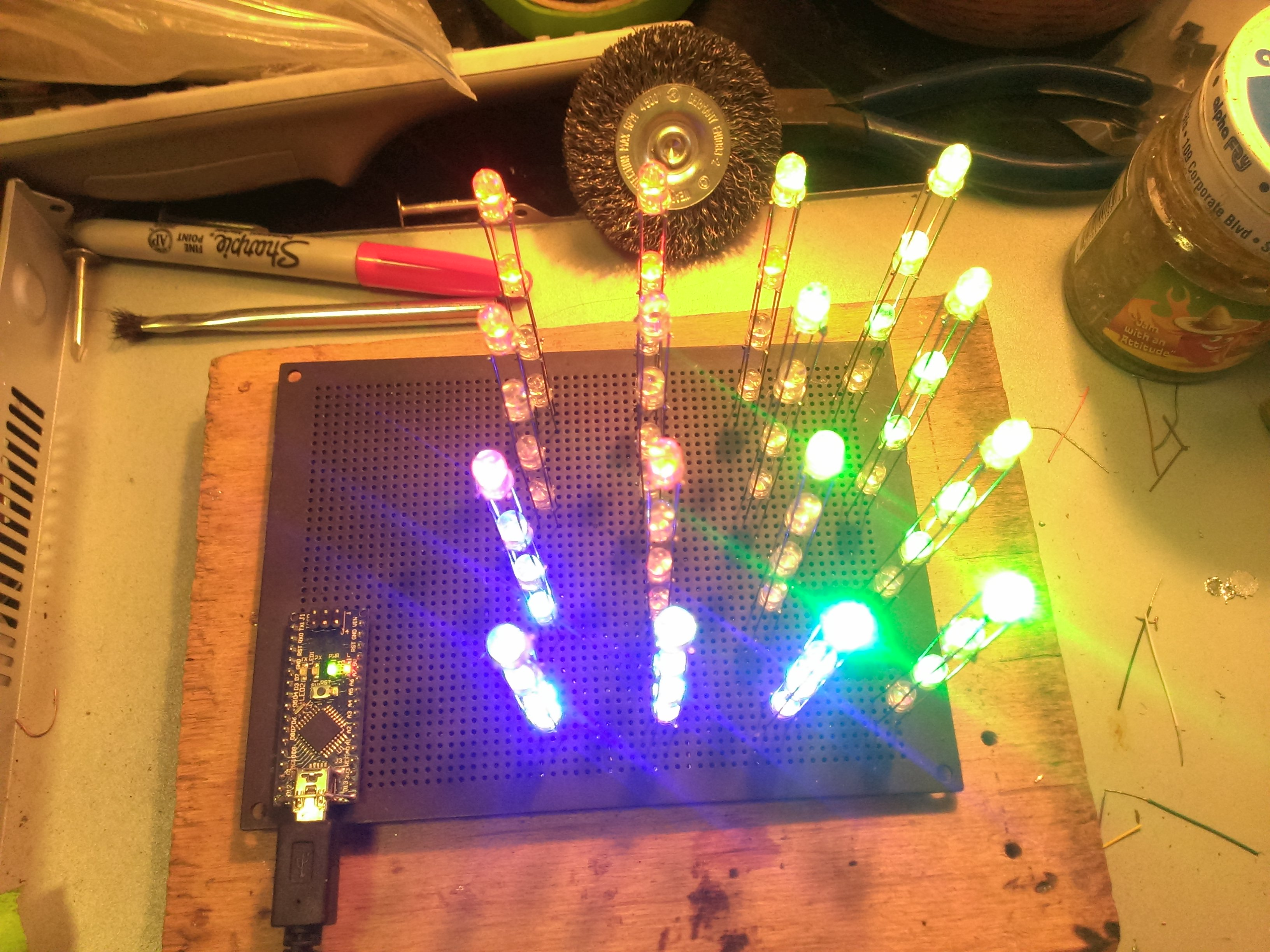 Picture of LED Cubes