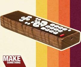 Wood TV Remote