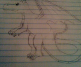 How to draw an epic dragon