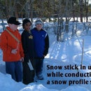 Snow Depth Sticks