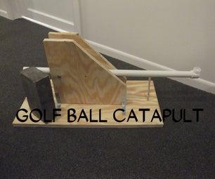 Golf Ball Catapult