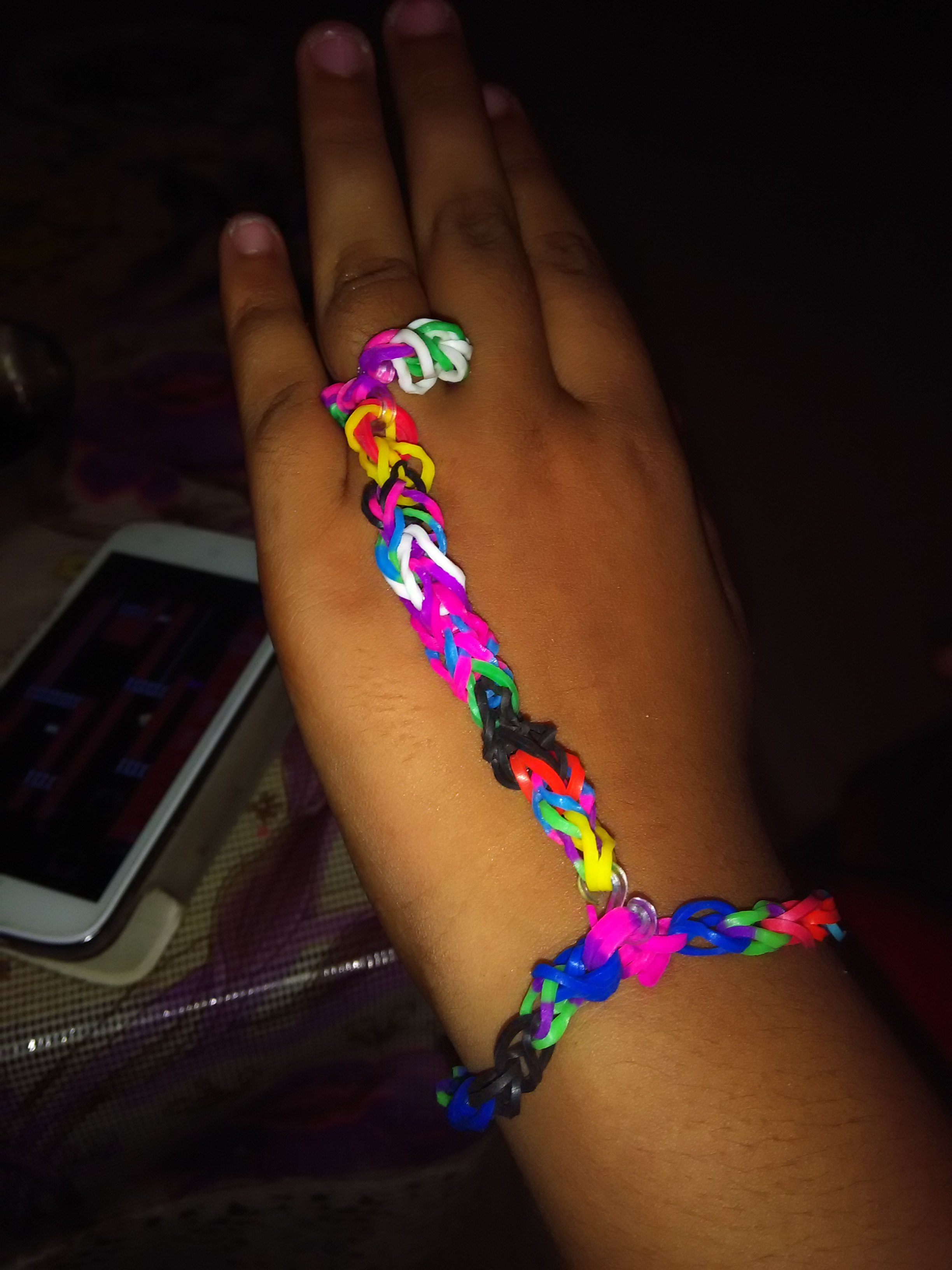 Picture of Loom Band Hand Made