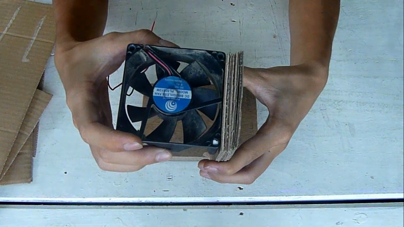 Picture of Cut the Cardboard
