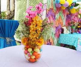 Easy Easter Floral Arrangement