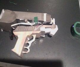 Functioning Lassiter Prototype Burning Laser Pistol from Firefly!