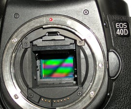 how to clean your DSLR sensor