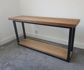Iroko Console Table