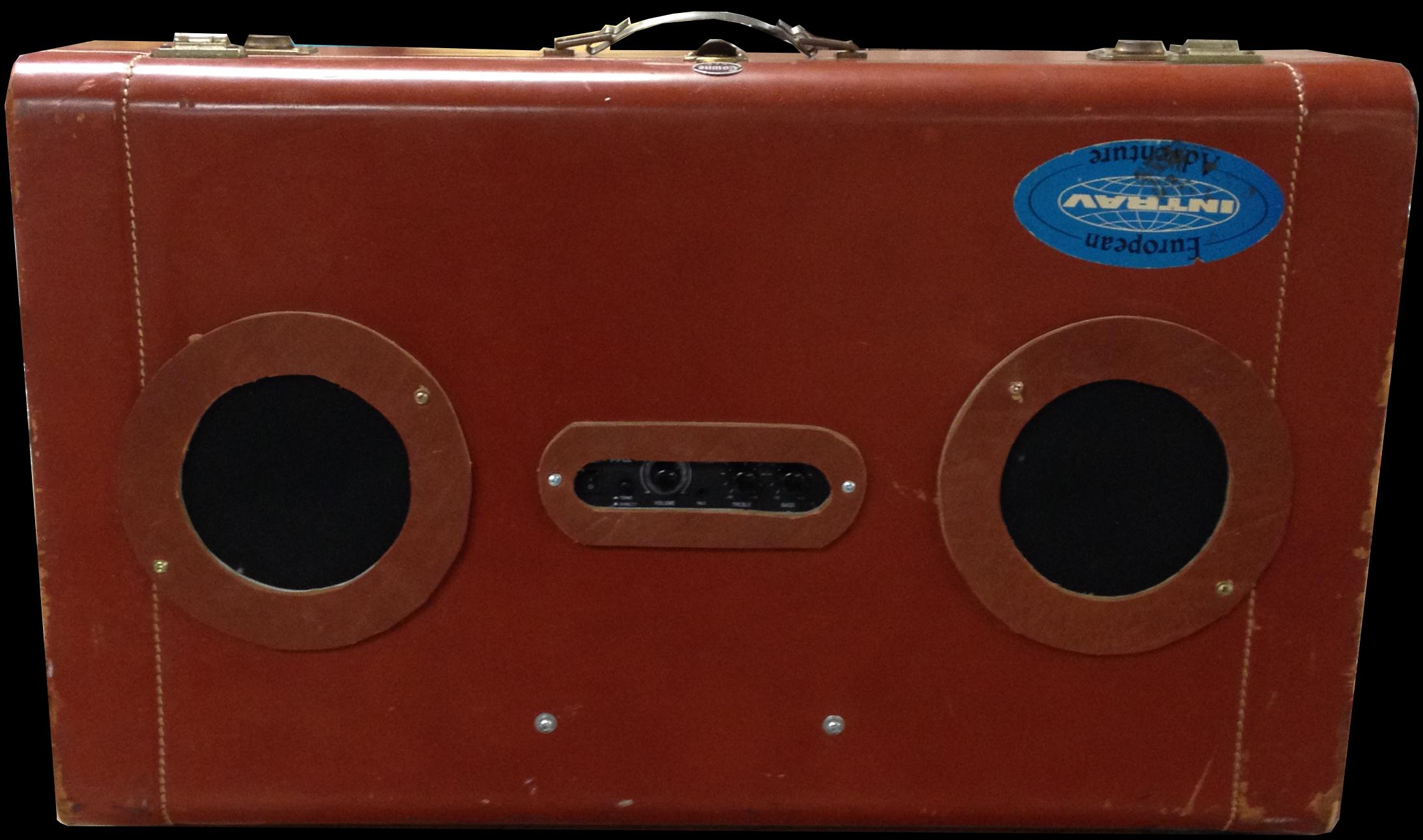 Picture of Vintage Suitcase Speaker