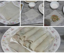 Lumpiang Sariwa or Philippines Spring Rolls for dummies