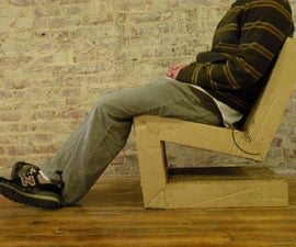 Cardboard Cantilever Chair 2.0