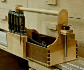 Building A Hand Tool Tote with Hand Cut Dovetails