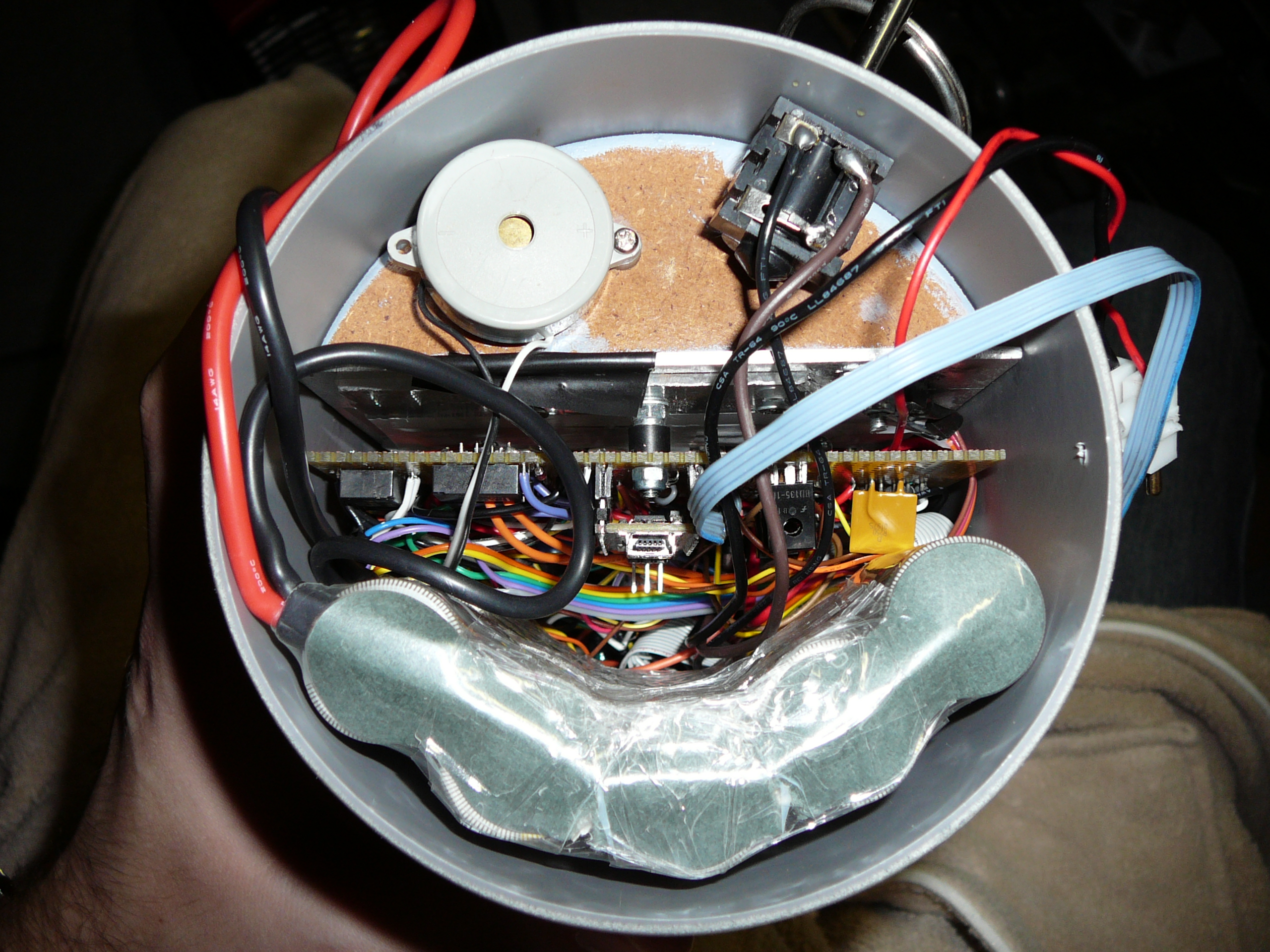 Picture of Putting It Together (core - Clock - Antimatter Collector)