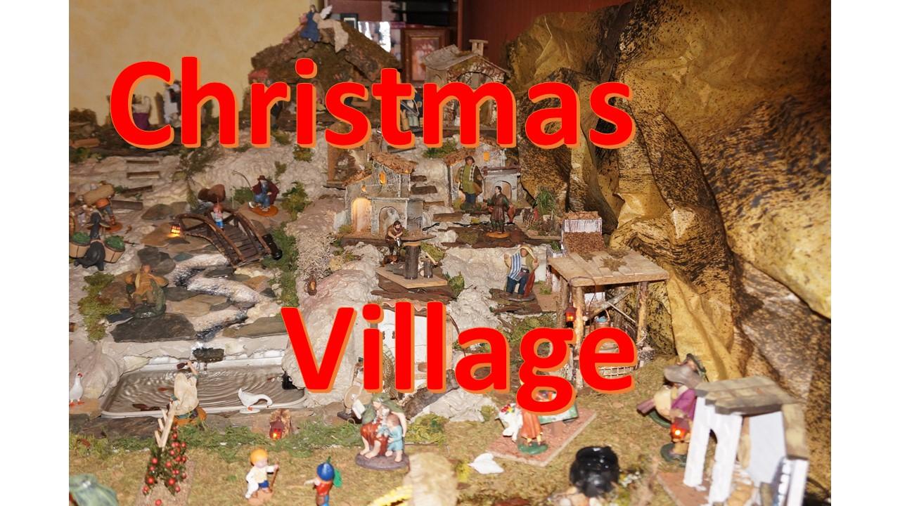 Picture of Christmas Nativity Village Scene (version 2.0)