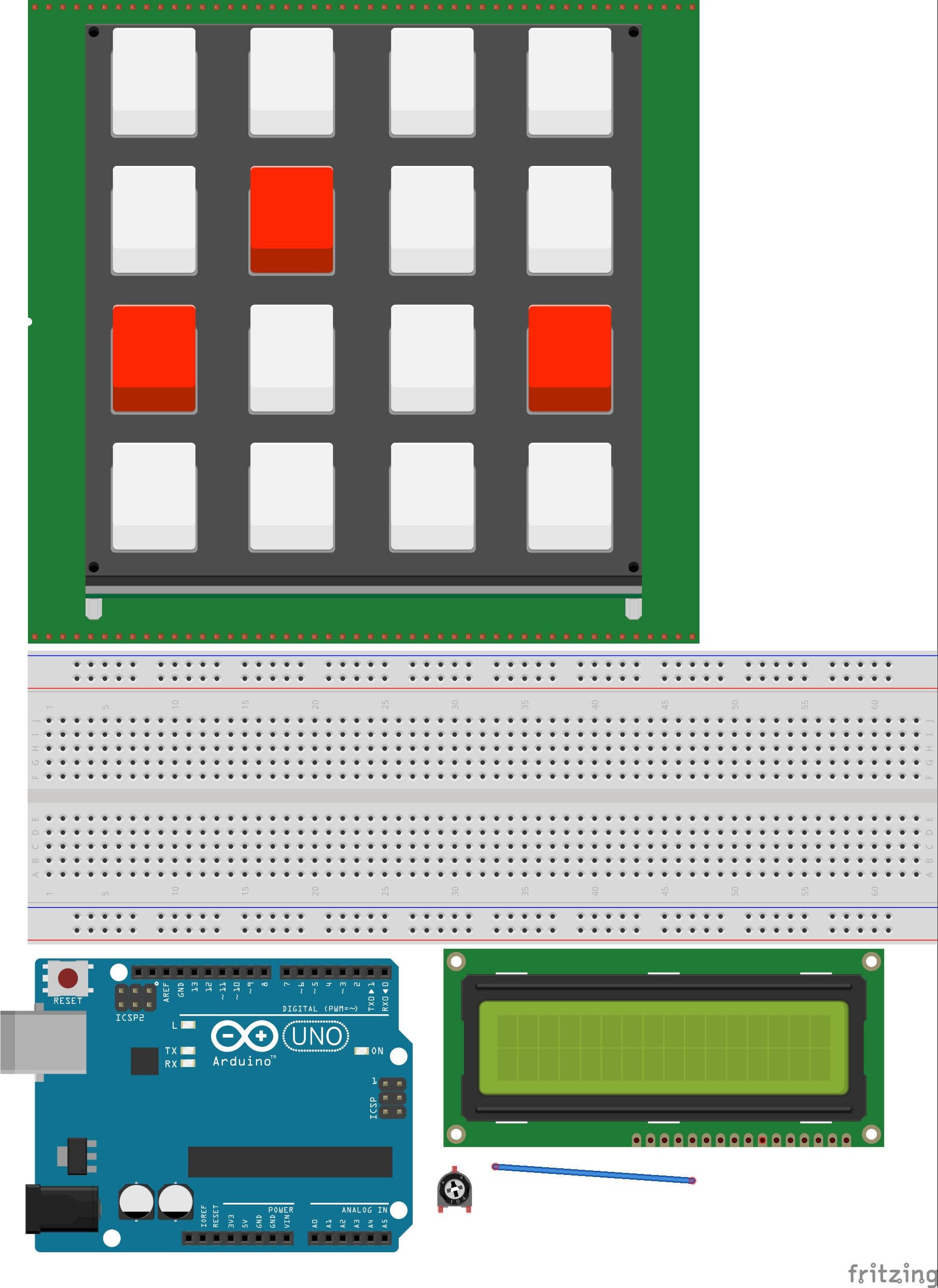 Picture of Arduino Calculator - Final Project