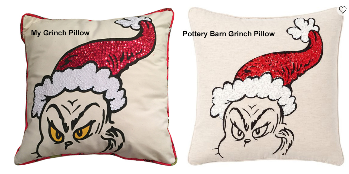 Picture of Compare My Pillow to Pottery Barn's Pillow