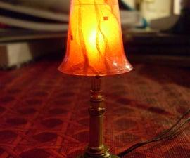Mini Halloween Lamp
