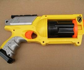 Pirate-esque Nerf Gun Conversion