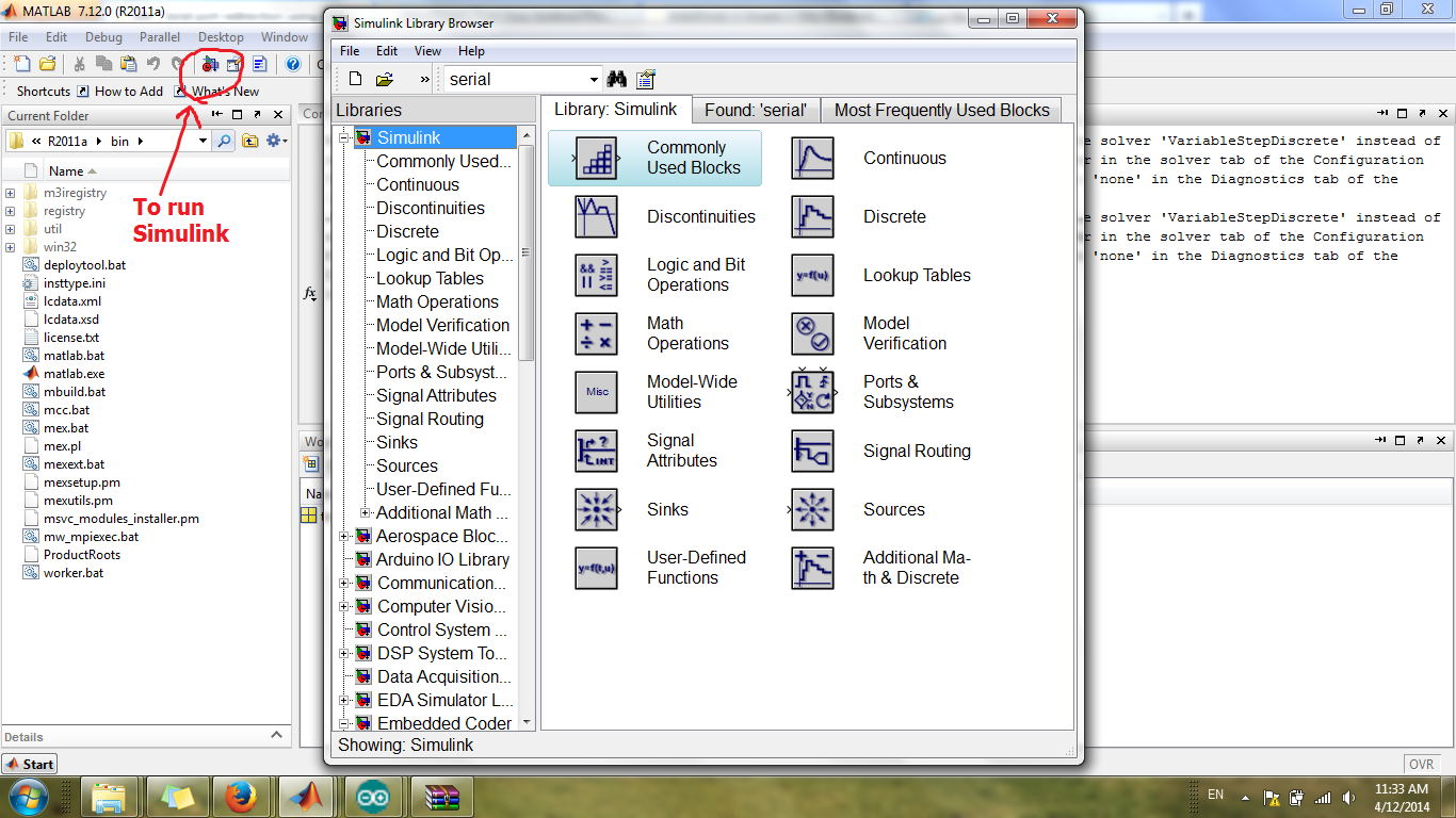 Picture of Preparation of Simulink