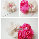 How to make handmade brooches-fabric flower brooch