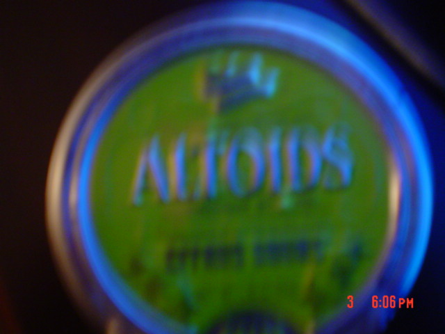 Picture of Altoids Sours Tin Saxophone Survival Kit