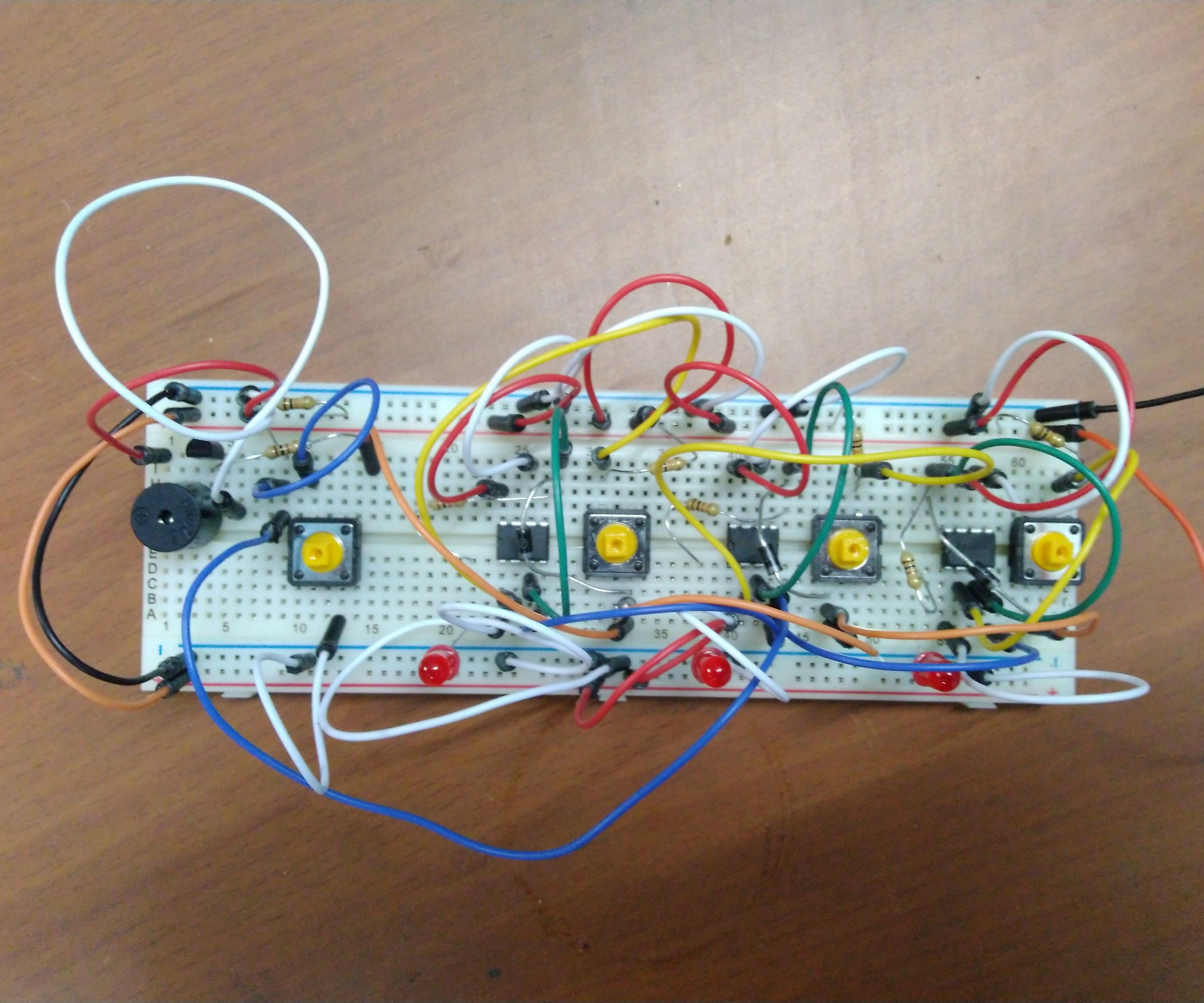 Quiz Buzzer Using 555 Timer Ic 4 Steps Operation Of Astable Multivibrator Mode