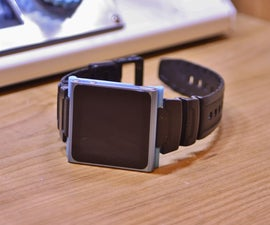 DIY 3d Printed IPod Nano Watch