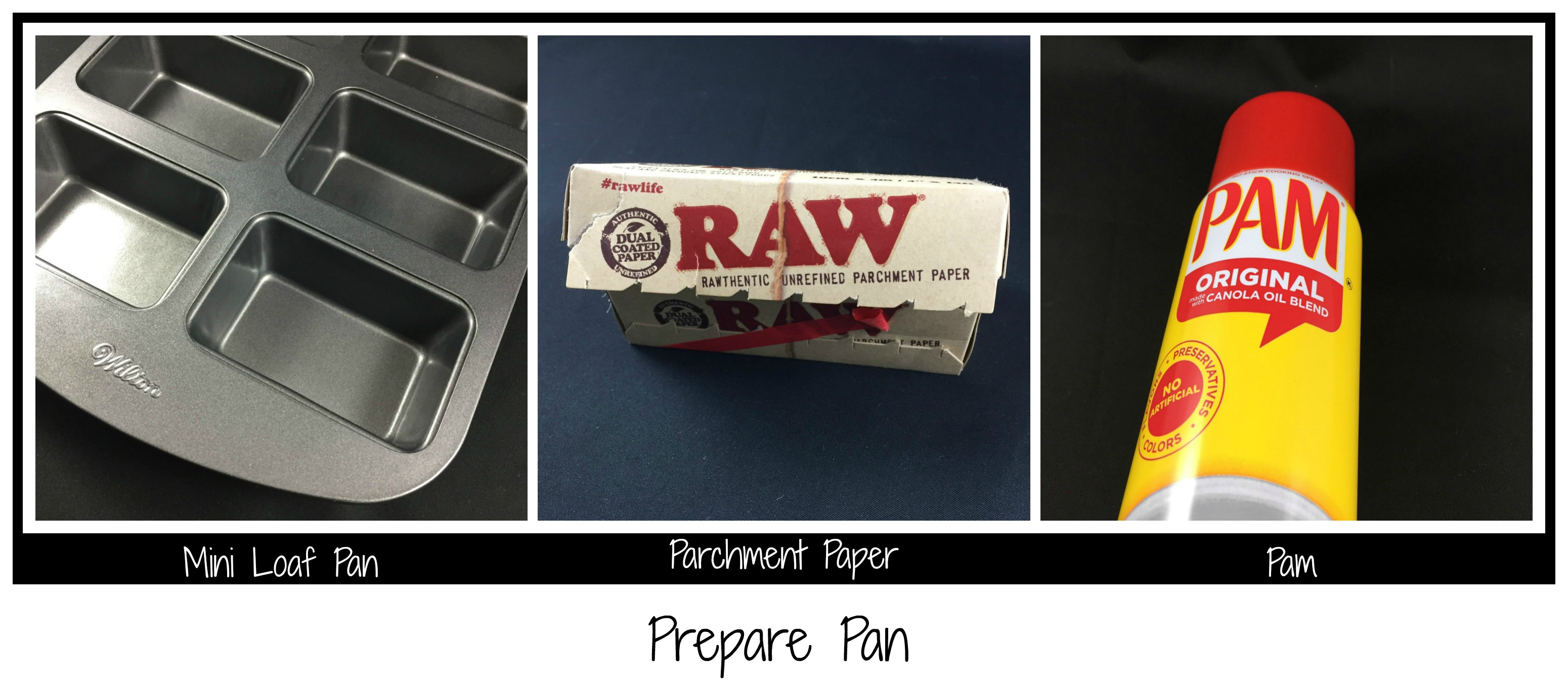 Picture of Grease Pan and Line With Parchment Paper