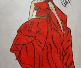 How to Draw the Best Design of a Dress