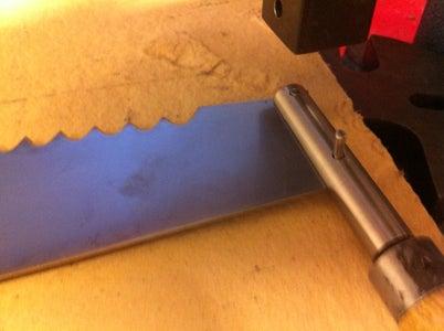 Take the Handle Off and Sand and Polish the Blade
