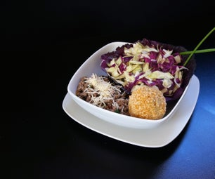 Gluten Free Stuffed Pasta and Cabbage Salad