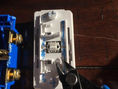 Disassemble the Mechanical Switch (Continued)
