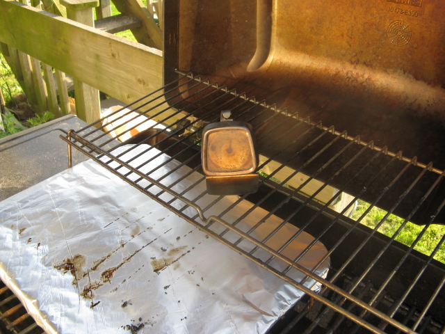 Picture of Baking in the Barbecue