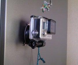 Free magnetic Gopro mount